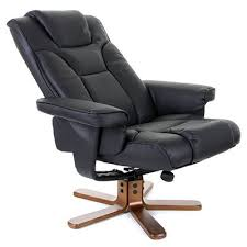 malmo leather swivel recliner chair swivel recliner