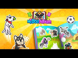 Pet Photo Albums My Dog Album Cute Puppy Sticker Book Android Apps On Google Play