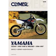amazon com clymer repair manual for yamaha yz250 wr250 yz wr 250