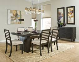 dining room counter height dining table with round glass top