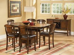 cottage dining room sets furniture elegant tall dining room table for awesome interior