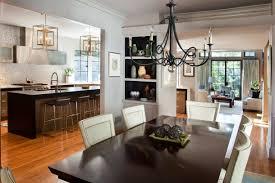 kitchen breathtaking open plan kitchen design with brown leather