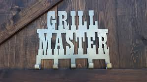 Patio Master Grill by Grill Sign Grilling Master Bbq Sign Rustic Farmhouse Style