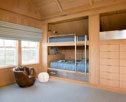 Built In Bunk Bed 12 Inspirational Exles Of Built In Bunk Beds Contemporist
