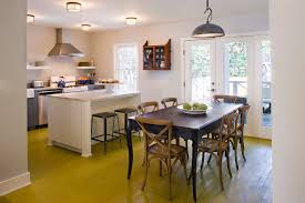 Flush Mount Ceiling Lights For Kitchen Flush Kitchen Lighting With Kitchen Table Dining Room Transitional