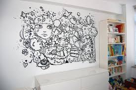 bedroom mural bedroom creative wall mural inspiration fascinating ideas