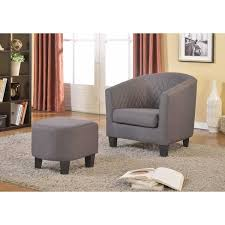 ottoman and accent chair isabella fabric accent chair and ottoman free shipping today