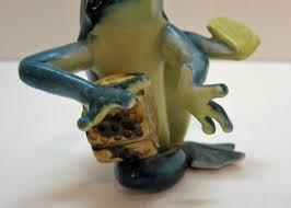 15551 by Vintage Occupied Japan Ceramic Frog Figurine 1946 52 Very Good