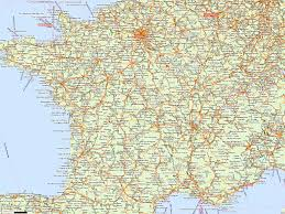 Map Of Northern France by France Online Maps Geographical Political Road Railway