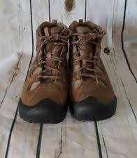 s keen boots size 9 leather medium b m lace up keen boots for ebay