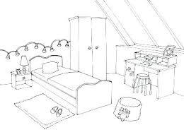 dessin chambre bebe coloriage de chambre de fille a imprimer dessin chambre bebe