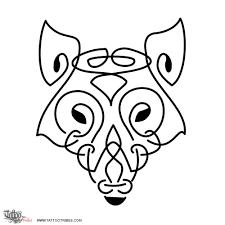 of celtic wolf knotwork custom designs on