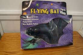 image vintage gemmy flying bat halloween spooky party new old