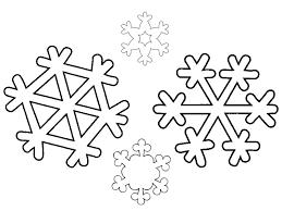 snowflakes coloring letter snowflake easy free snowflake