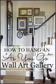 Stairway Wall Ideas by 82 Best Wall Galleries Images On Pinterest Wall Galleries Home