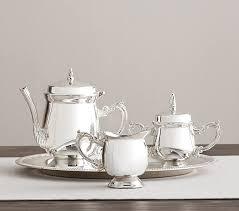 tea set silver tea set pottery barn kids