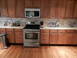 Maple Wood Kitchen Cabinets Marvellous Red Mahoagany Color Wood Kitchen Floor Featuring White