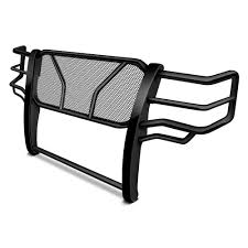 truck rear window guard frontier truck gear 200 30 7003 black grille guard