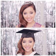 my week in s mice phan graduation hair makeup dress by the