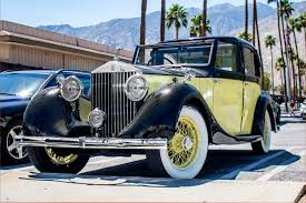 yellow rolls royce 1920 parked in drive 1936 rolls royce 20 25 sedanca de ville the