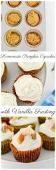 homemade pumpkin cupcakes with vanilla frosting savvy saving couple