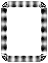 christmas border writing paper openclipart halftone border