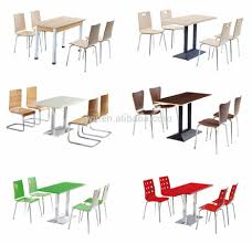 Commercial Dining Room Tables Modern Makeover And Decorations Ideas Fast Food Table Chair Set