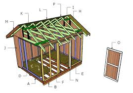 shed plans free 10x12 shed plans free howtospecialist how to build step by