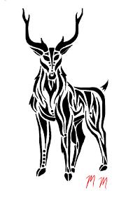 tattoos tribal hunting tattoos tribal tattoos tribal deer skull