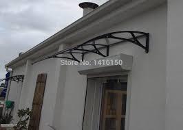 Door Awnings Aluminum Ds100200 A 100x200cm Polycarbonate Door Awnings Balcony Awnings