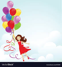 birthday girl happy birthday girl royalty free vector image vectorstock