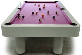 Pool Table Dining Table by Pool Dining Tables With Modern Romantic Design With White And Pink