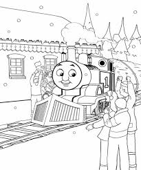 thomas tank engine winter coloring pages for kids winter