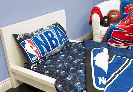 Nba Bed Set Exclusive Nba Basket Collection 4 Pcs