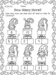 addition christmas addition worksheets kindergarten free math