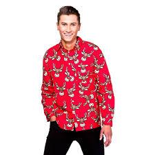 mens ladies christmas fancy dress hawaiian hawaii shirt xmas
