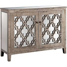 wood and mirrored console table elegantly display an heirloom vase or framed family photographs atop