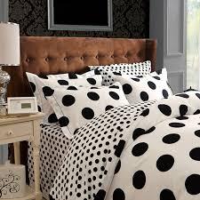 Polka Dot Bed Set Polka Dot Comforter Sets Black And White Bedding Master