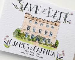custom save the dates wedding save the dates etsy