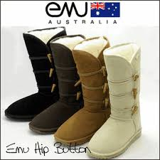 ugg boots australia emu emu hip button boot ugg half the price and