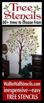 25 unique tree stencil ideas on cut canvas tree