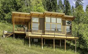 passive solar residence in asheville north carolina steep slope north carolina steep slope ripping shed roof house gallery timbercab a prefab timber framed cabin fabcab small within shed roof house