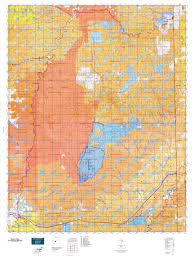 Topographic Map Of Utah by Book Cliffs Map Mytopo