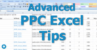 how to pivot table advanced ppc excel tips how to do pivot tables and vlookups