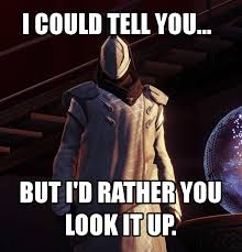 Destiny Meme - destiny in a nutshell by tesseradical17 on deviantart
