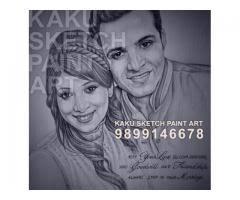 delhi valentine day gift pencil sketch portrait u2013we makes