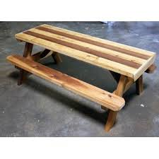 Plans For A Picnic Table With Separate Benches by Kids U0027 Picnic Tables