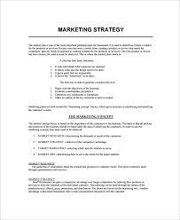 sample marketing plan sample marketing strategy template sample