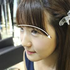japanese and korean fashion trends gain popularity worldwide light weight see through bangs is very popular among the young