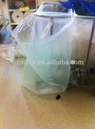 cheap hotel plastic laundry bag clear plastic bag large buy